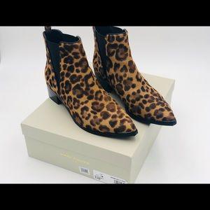 Marc Fisher Leopard / Yalen Ankle Bootie